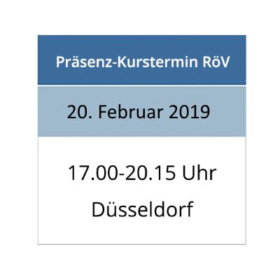 Strahlenschutzkurs am 20.02.2019 in Düsseldorf
