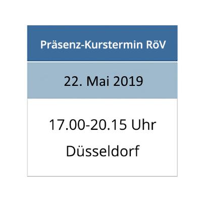 Strahlenschutzkurs am 22.05.2019 in Düsseldorf