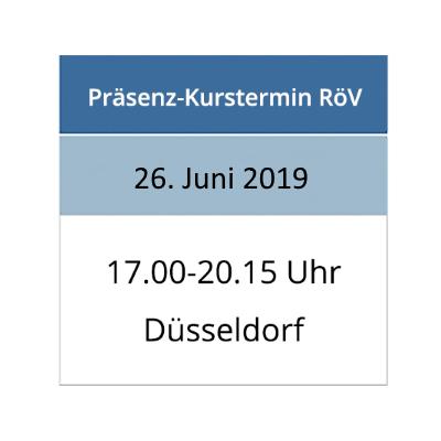 Strahlenschutzkurs am 26.06.2019 in Düsseldorf